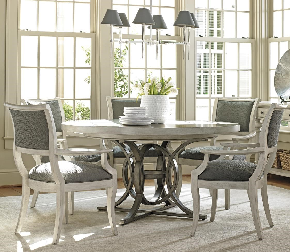 Lexington Oyster Bay Six Piece Dining Set With Calerton Table And Eastport  Chairs   Baeru0027s Furniture   Dining 5 Piece Sets