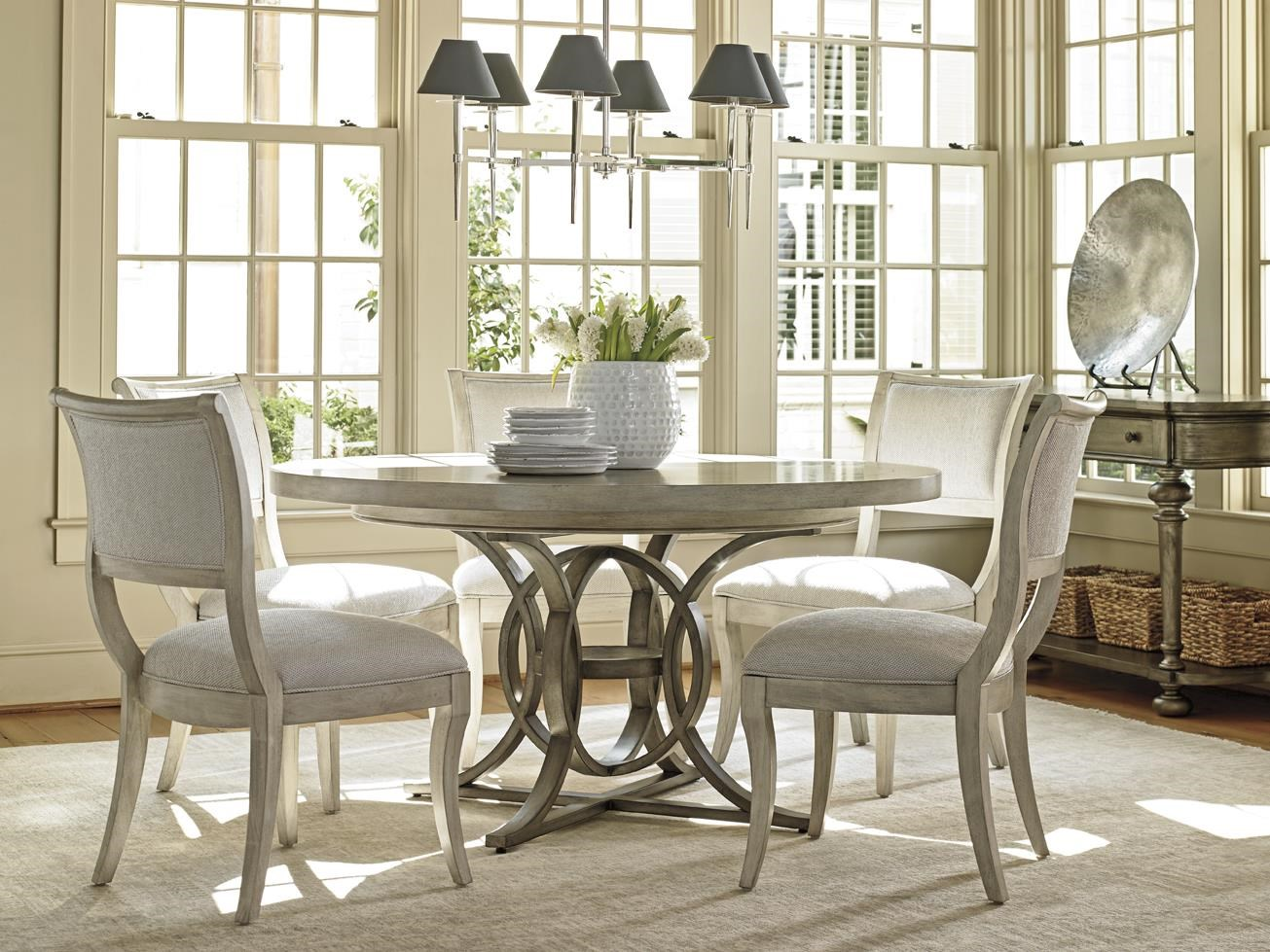 Delightful ... Lexington Oyster BayCALERTON ROUND DINING TABLE ...