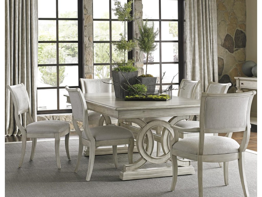 Lexington Oyster Bay7 Pc Dining Set