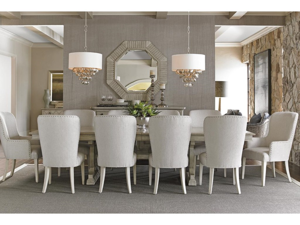 Lexington Oyster Bay11 Pc Dining Set