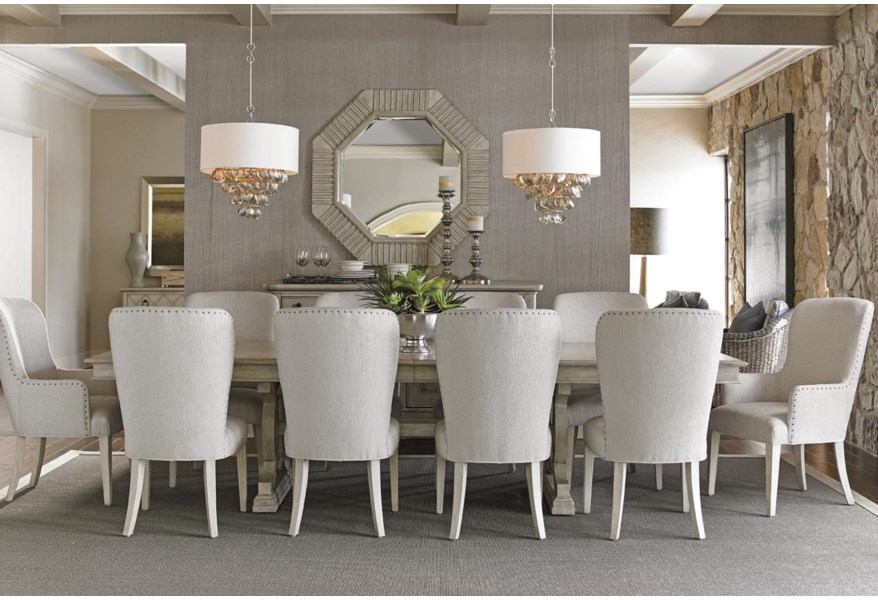 Oyster Bay Eleven Piece Dining Set