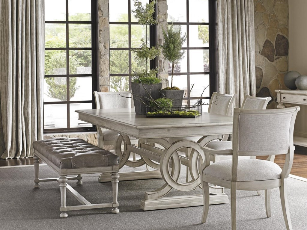 Lexington Oyster BayMONTAUK RECTANGULAR DINING TABLE