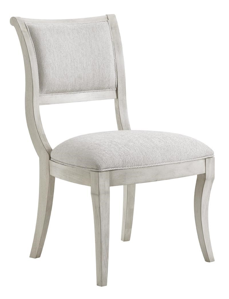 Eastport Side Chair in Sea Pearl Fabric
