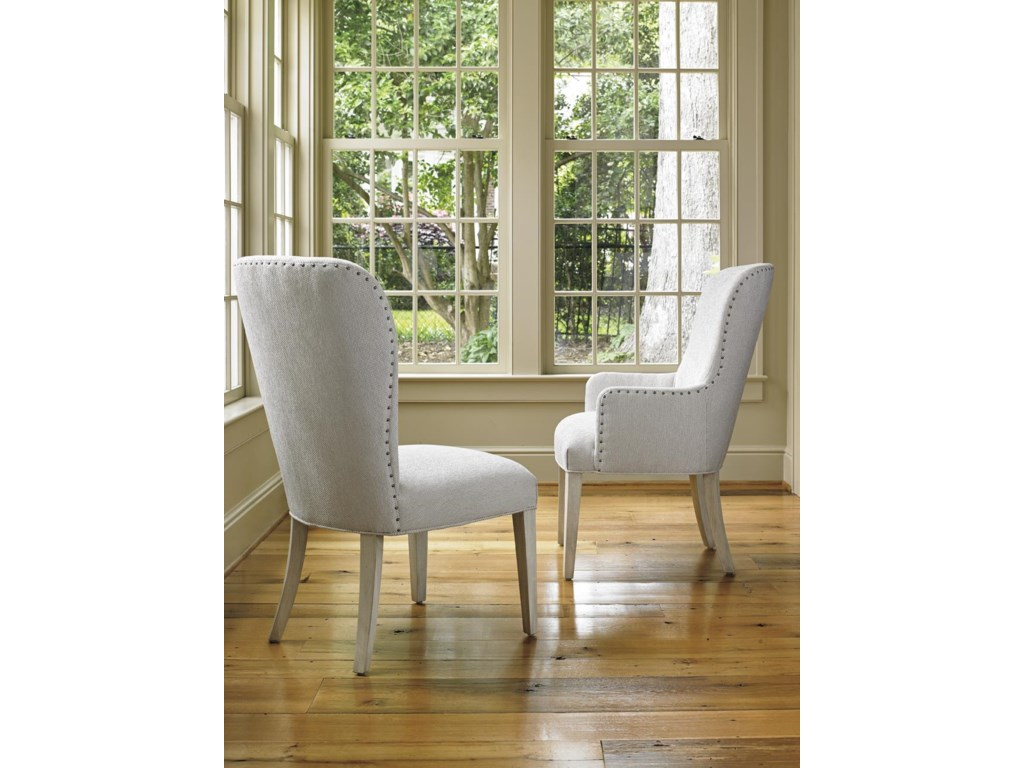 Lexington Oyster BayBAXTER UPHOLSTERED ARM CHAIR