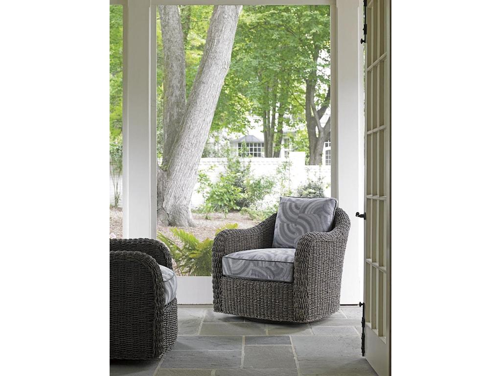 Lexington Oyster BaySeabury Swivel Chair