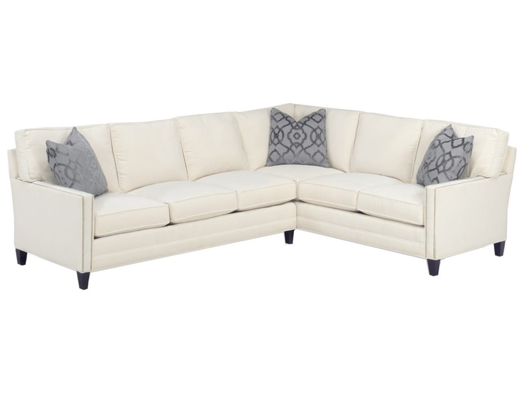 Lexington Personal Design SeriesCustomizable Bristol 2 Pc Sectional