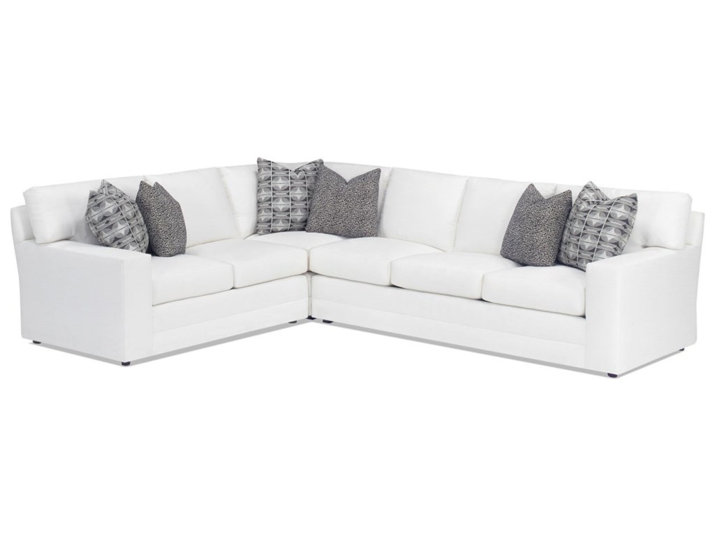 Lexington personal design seriescustomizable bedford 2 pc sectional sofa