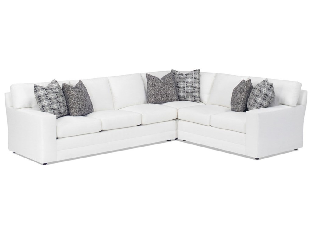 Lexington Personal Design SeriesCustomizable Bedford 3 Pc Sectional Sofa