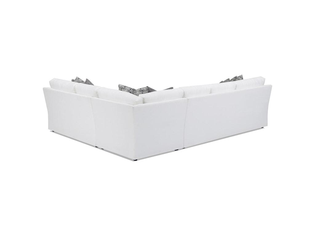 Lexington Personal Design SeriesCustomizable Bedford 3 Pc Sectional Sofa