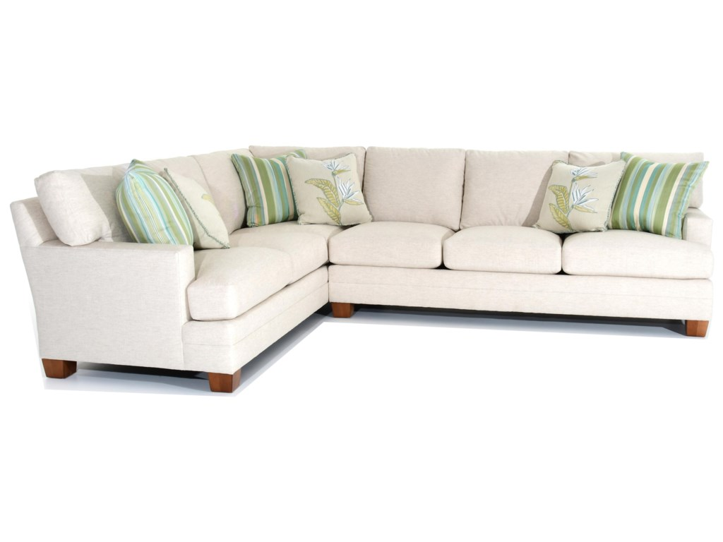 Lexington Personal Design SeriesTownsend 2 Pc Customizable Sectional