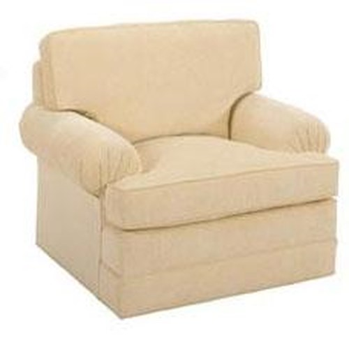 Lexington Personal Design Series Customizable Upholstered Overland Living Room Chair