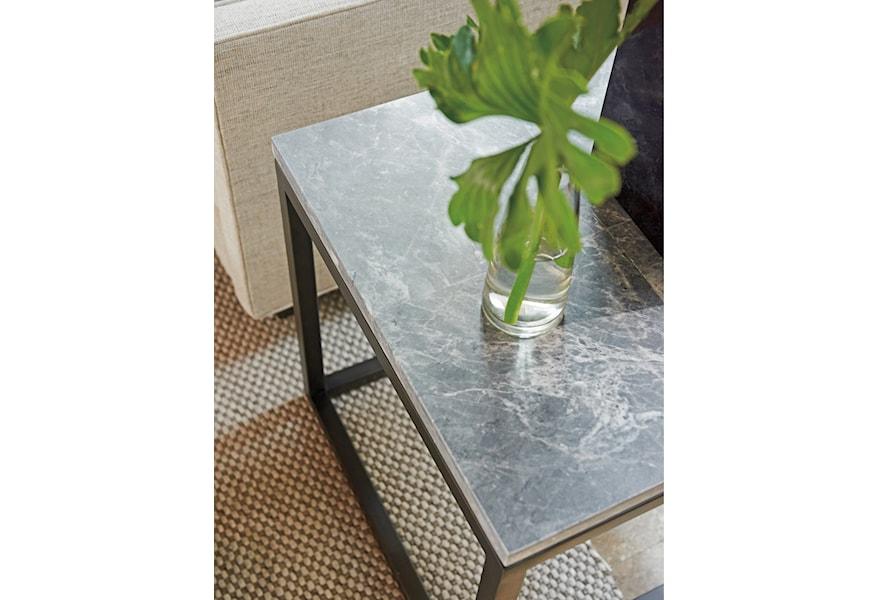 Lexington Santana 411 957 Proximity Square End Table With Marble
