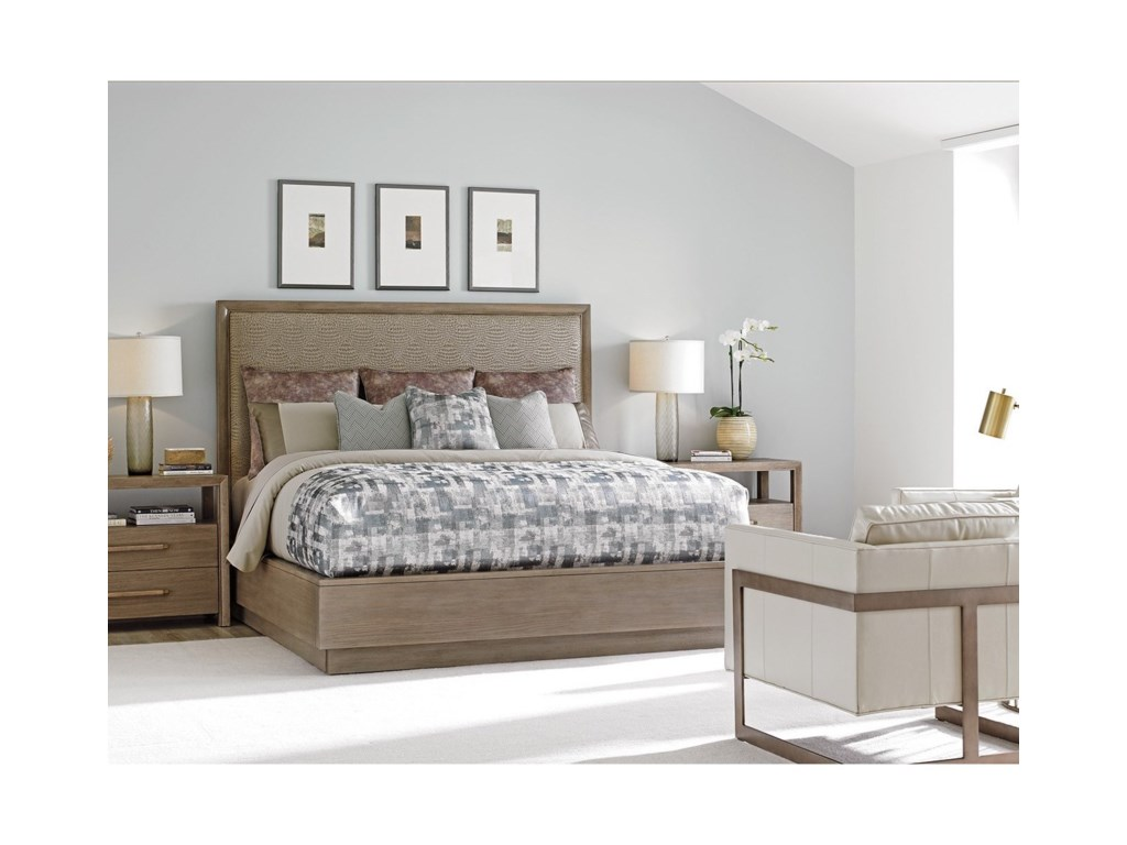 Lexington Shadow PlayUptown Platform Bed 5/0 Queen