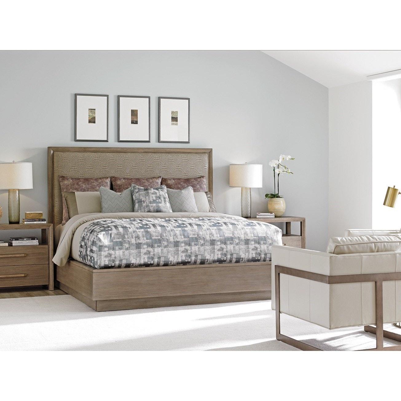 sophisticated lexington bedroom furniture. Lexington Shadow PlayUptown Platform Bed 6/6 King Sophisticated Bedroom Furniture G
