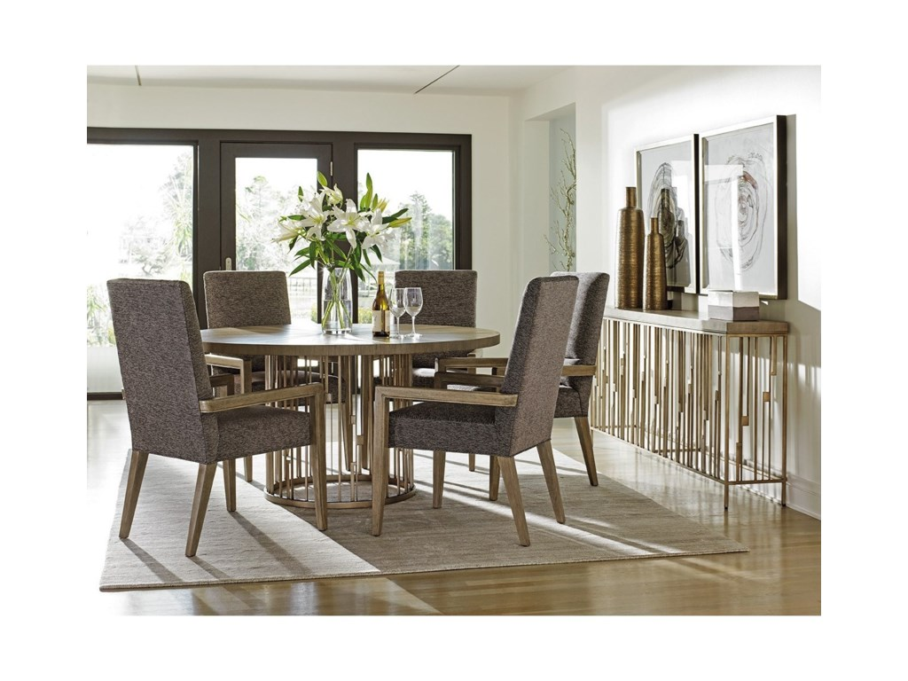 Lexington Shadow PlayRendezvous Round Dining Table