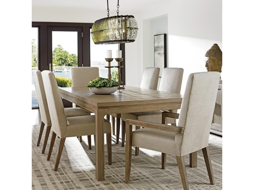 Lexington Shadow Play Seven Piece Dining Set with Concorde ...