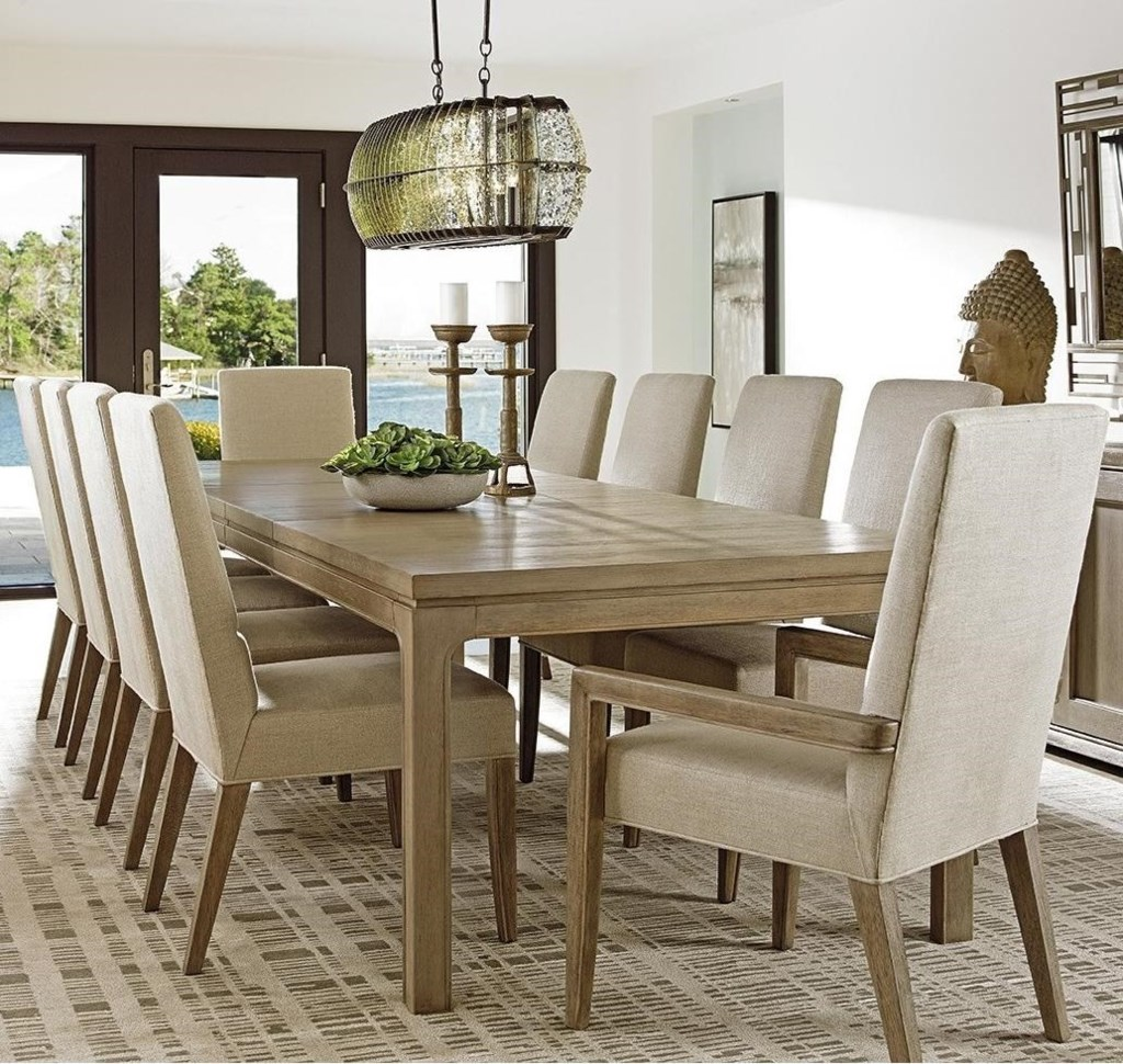 lexington shadow play eleven piece dining set with concorde table