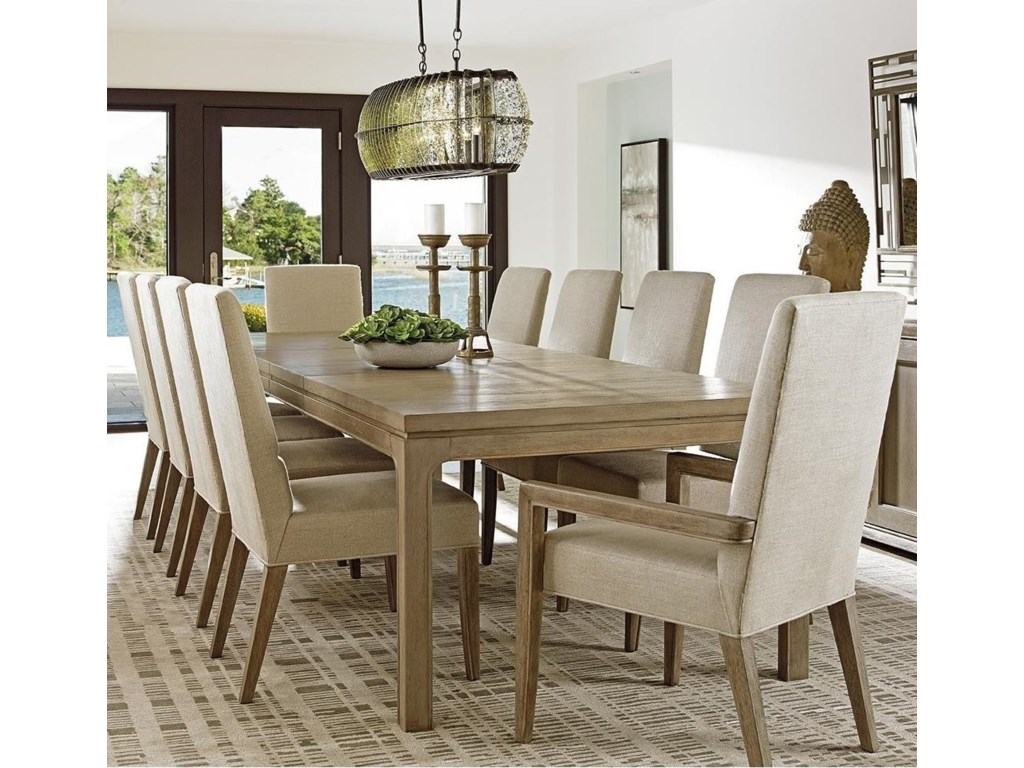 Lexington Shadow Play Eleven Piece Dining Set with Concorde ...