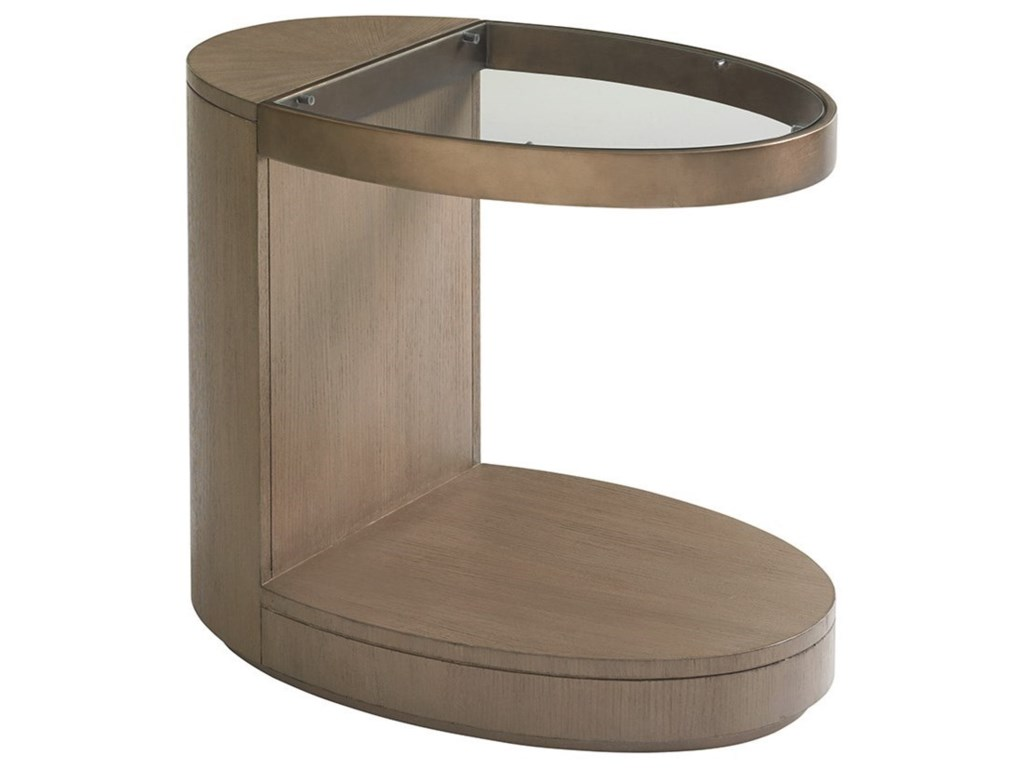 Lexington Shadow PlayHighball Oval End Table