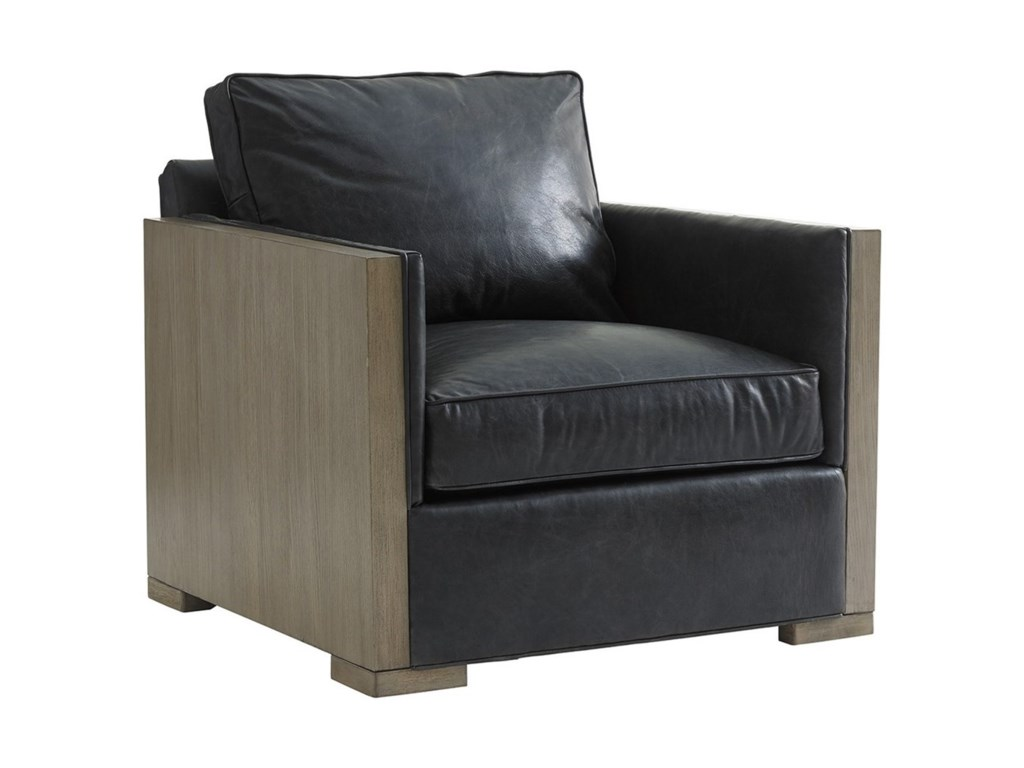 Lexington Shadow PlayDelshire Chair and Ottoman Set