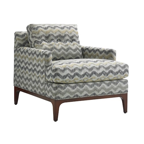 Lexington TAKE FIVE Fulton Loose Back Chair with Button Tuft Detailing