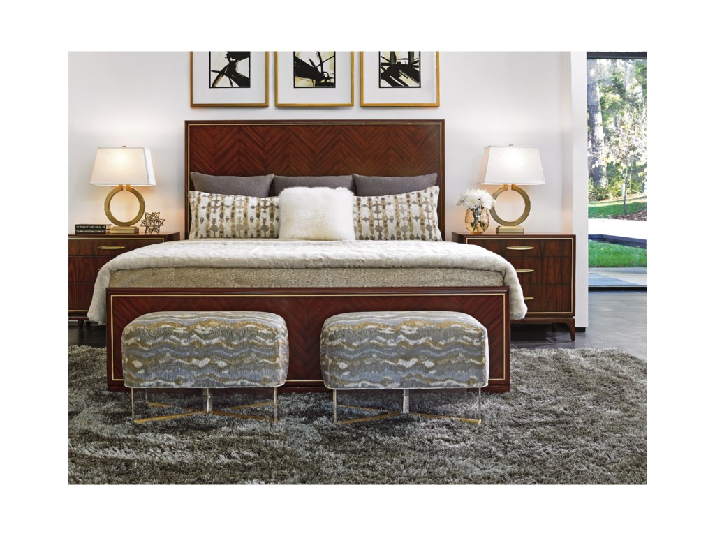 Lexington TAKE FIVECarlyle Panel Bed 6/6 King