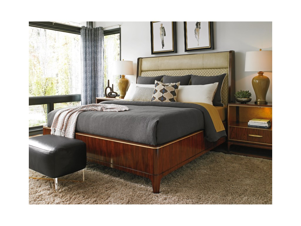 Lexington TAKE FIVEEmpire Platform Bed 5/0 Queen