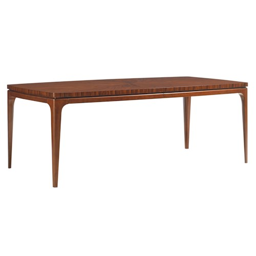 Lexington TAKE FIVE Viceroy Cathedral Rosewood Rectangular Dining Table