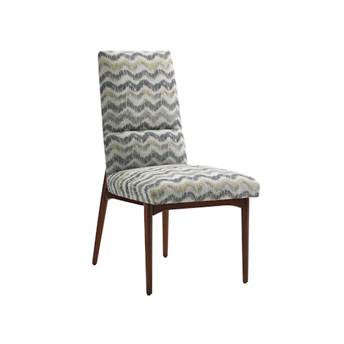 Lexington TAKE FIVE Chelsea Mid Century Modern Side Chair with Customizable Fabric