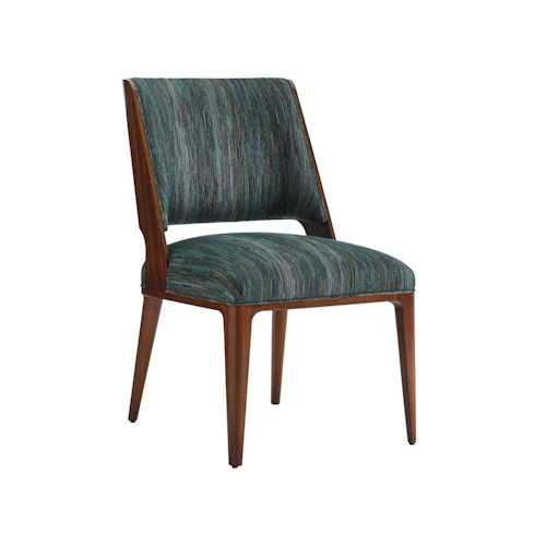 Lexington TAKE FIVE Hayden Mid Century Modern Side Chair with Customizable Fabric