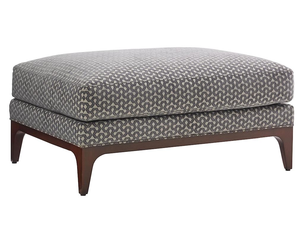 Lexington TAKE FIVEGreenstone Chair and Ottoman Set