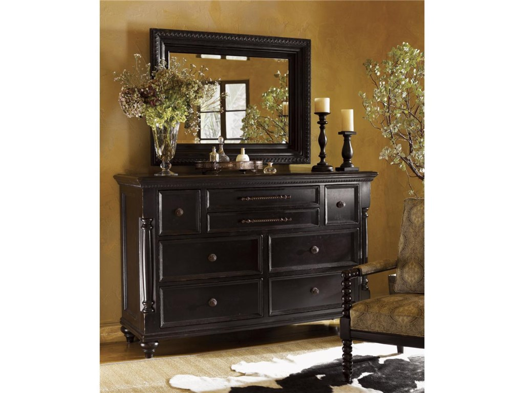 Tommy Bahama Home KingstownStony Point Triple Dresser and Fairpoint Mir