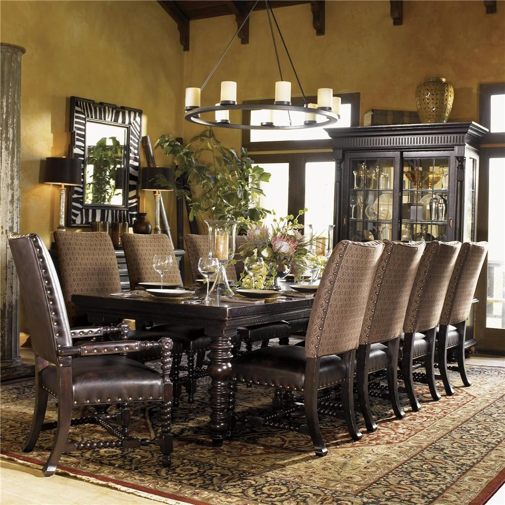 Good Tommy Bahama Home Kingstown Pembroke Rectangular Dining Table With Turned  Legs
