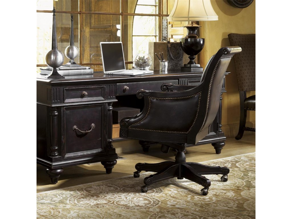 Shown With Admiralty Executive Desk Tommy Bahama Home Kingstownadmiralty Chair