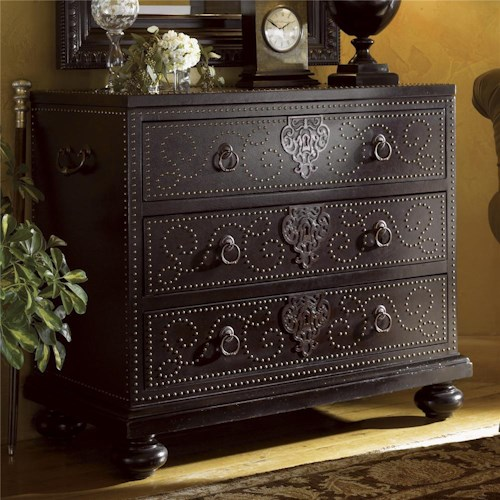 Tommy Bahama Home Kingstown Tortola Chest with Bellman Handles