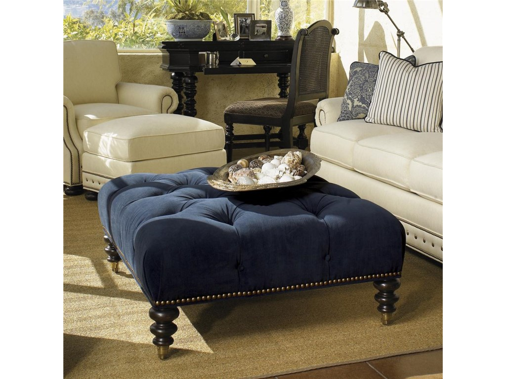 Tommy Bahama Home KingstownVictoria Cocktail Ottoman