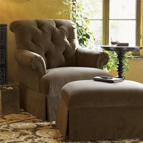 Tommy Bahama Home Kingstown Augustine Chair & Ottoman Set