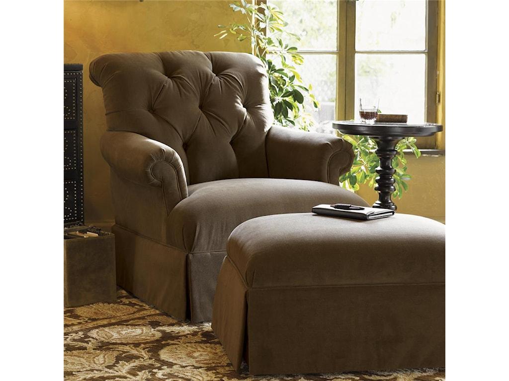 Tommy Bahama Home KingstownAugustine Chair & Ottoman