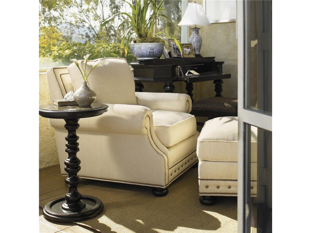 Shown with Osbourne Chair and Pitcairn Accent Table