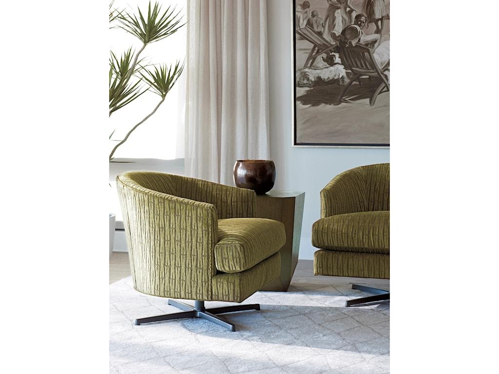 Lexington ZavalaGraves Swivel Chair (Charcoal)