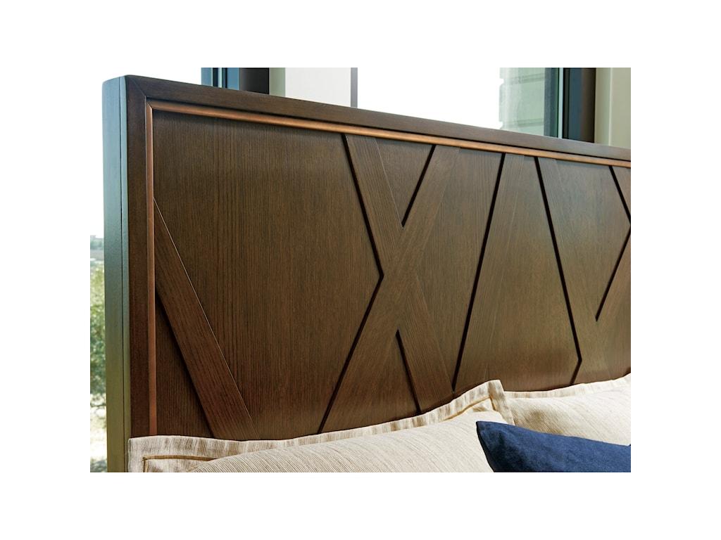 Lexington ZavalaRadian Panel Bed 5/0 Queen