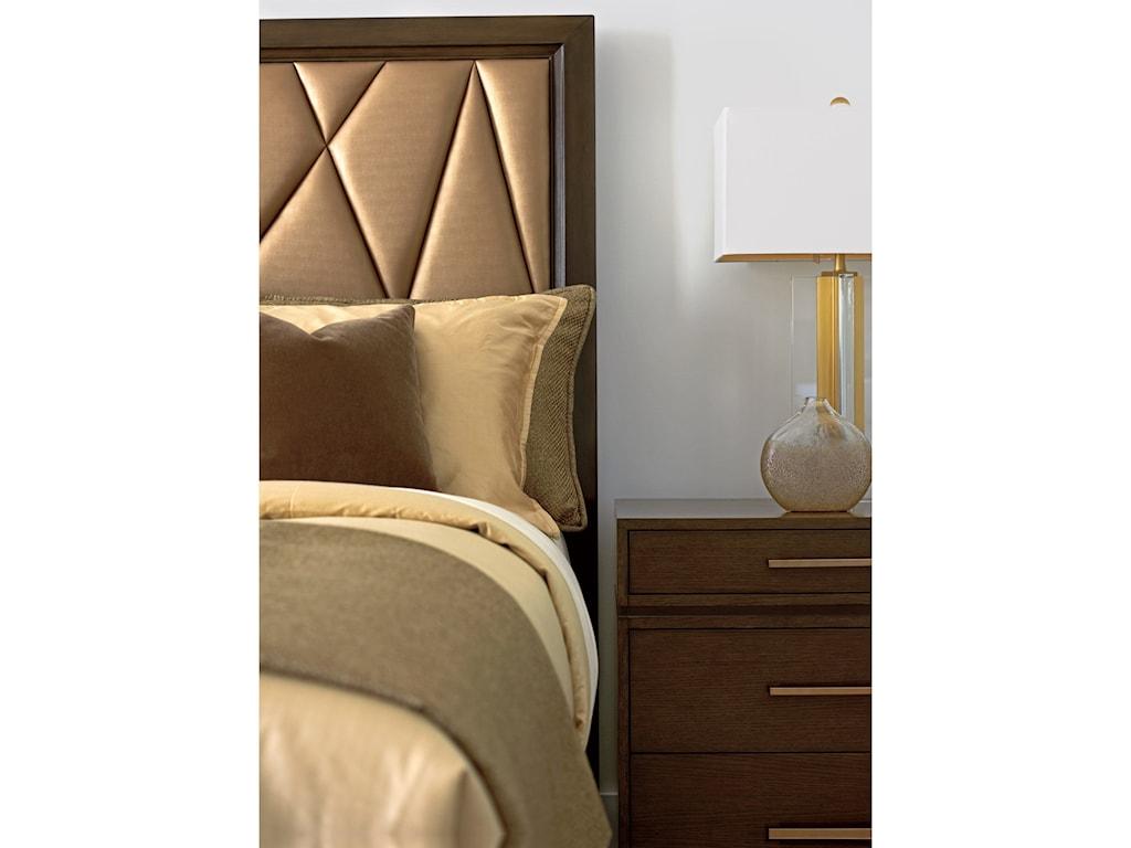 Lexington ZavalaSpectrum Upholstered Panel Bed 5/0 Queen