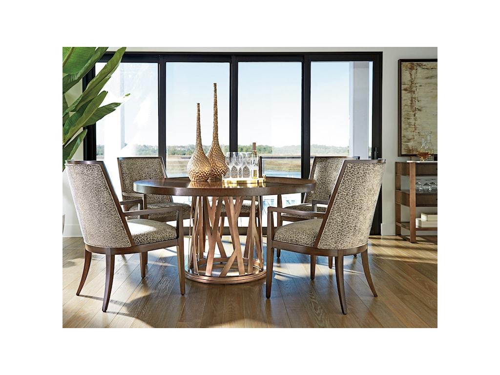 Lexington ZavalaHorizons Round Dining Table