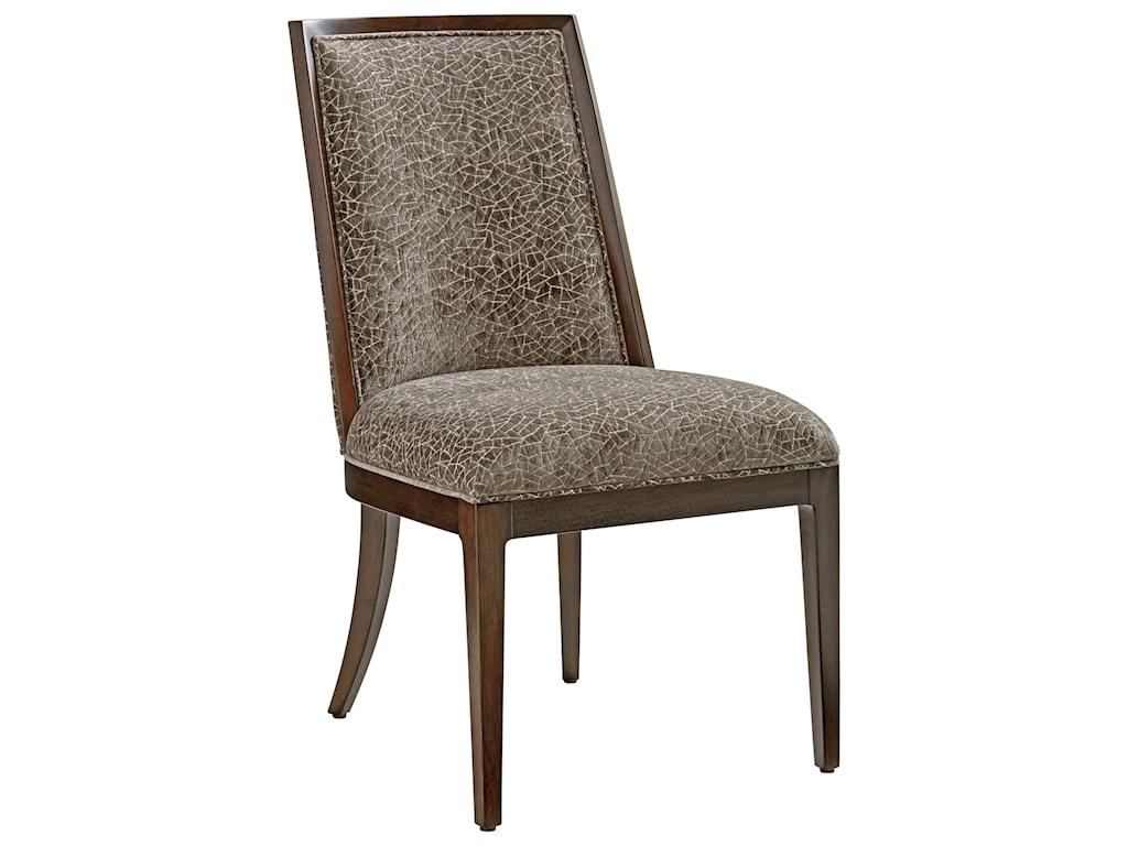 Lexington ZavalaEllipsis Upholstered Side Chair (custom)