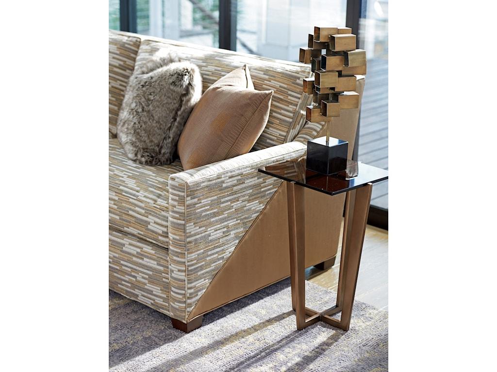 Lexington ZavalaVortex Chairside Table