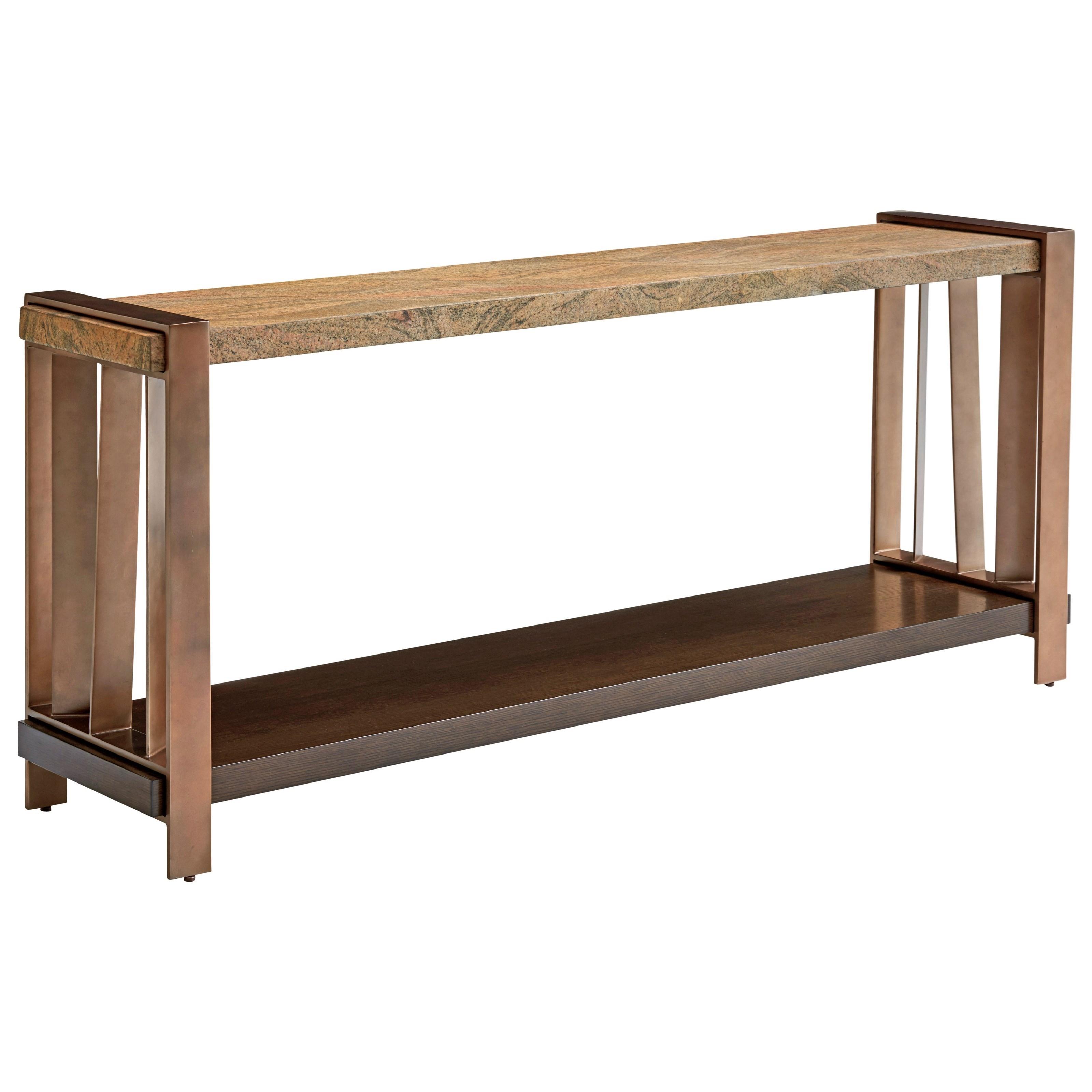 Lexington ZavalaIntersect Console Table ...