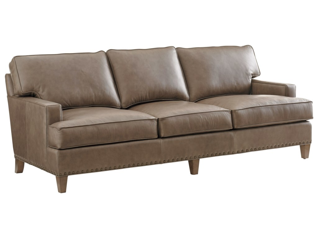 Lexington ZavalaHughes Leather Sofa