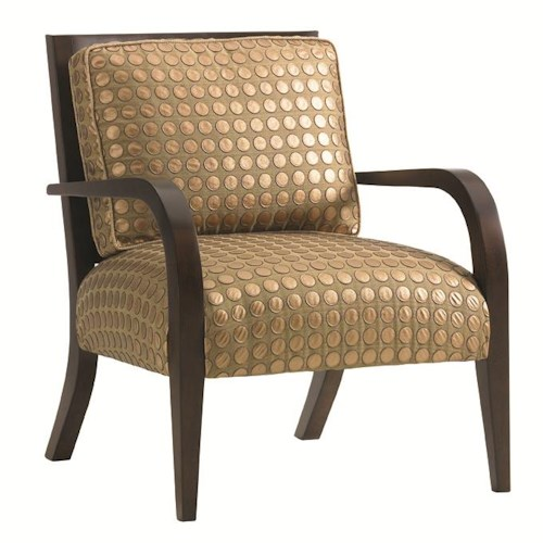Lexington 11 South Loose Back Apollo Chair  with Exposed Legs
