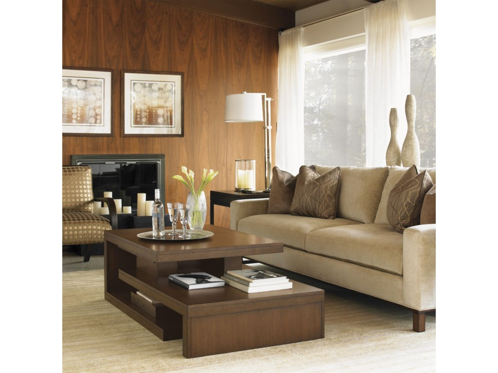 Shown with Cascade Cocktail Table, Chronicle Sofa and Cosmo Lamp Table