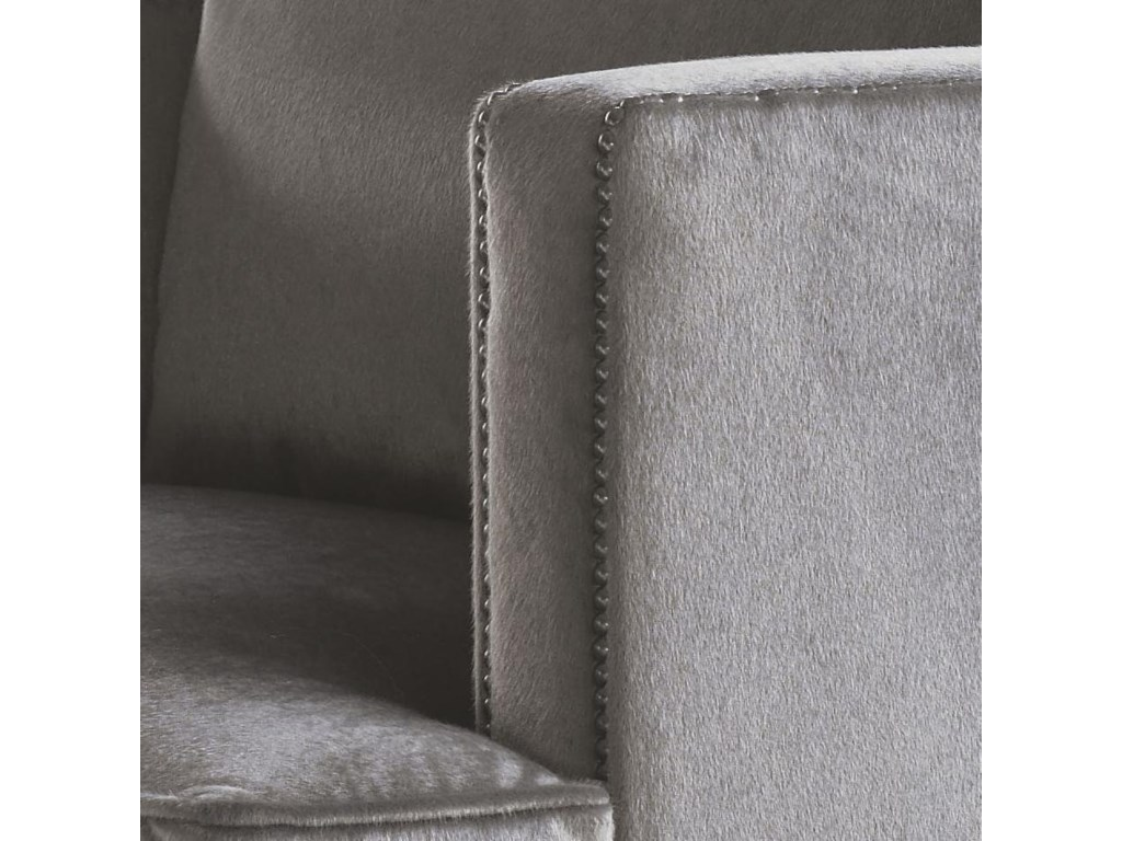 Nailhead Trim Adds to the Modern-Contemporary Feel of the Chair